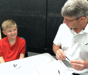 kindergarten fall screener interview